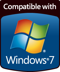 [ Compatible with Windows 7 ]
