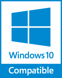 [ Compatible with Windows 10 ]